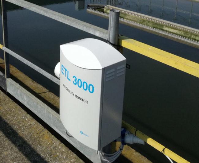 Misura dell'odore con naso elettronico - ETL 3000
