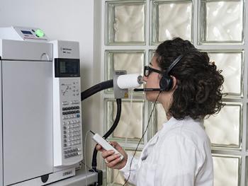 Studio delle componenti odorigene mediante GC/O