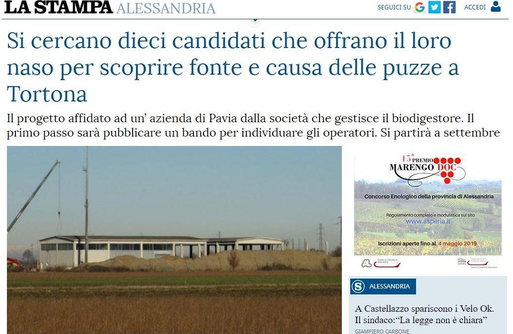 Si cercano dieci candidati che offrano il loro naso per scoprire fonte e causa delle puzze a Tortona